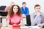 Studenti a lezione — Foto Stock