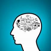 Thinking mechanism — Stock Photo