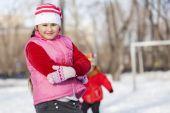 Zimní aktivity — Stock fotografie