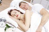 Germogli nel letto — Foto Stock