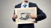 Tiempo de café — Foto de Stock