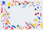 Malba a kresba koníčkem — Stock fotografie