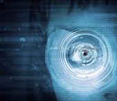 Eye identification — Stock Photo