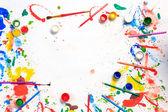 Peinture et dessin de passe-temps — Photo