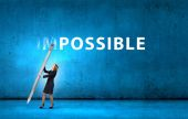 Nothing is impossible — Stock Photo