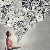 Constructive thinking — Stock Photo