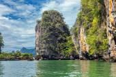 Laguna nel mare delle Andamane — Foto Stock