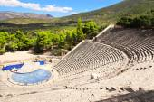 Ancient Epidaurus theater, Peloponnese, Greece — Stock Photo