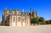 Dominican monastery in Batalha, Portugal — Stock Photo
