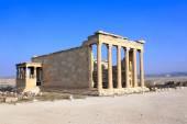 Erechtheum from Athenian Acropolis, Greece — Stock Photo
