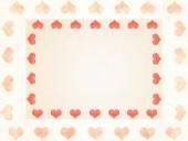 Valentine tle — Zdjęcie stockowe