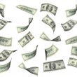 Collection of dollar banknotes — Stock Photo #66943279