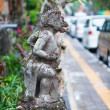 Traditional Balinese sculpture in Ubud — Stock Photo #56474871