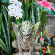 Traditional Balinese sculpture in Ubud, Bali — Stock Photo #58225381