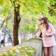 Young dating couple in Paris on a nice spring day — Stock Photo #60702385