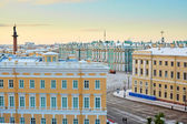 Scenic view of the Palace square in St. Petersburg — Fotografia Stock