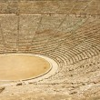 Ancient theater in Epidaurus, Greece — Stock Photo #63153075