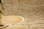 Ancient theater in Epidaurus, Greece — Stock Photo