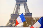 French national flag — Stock Photo