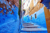 Street in Medina of Chefchaouen, Morocco — Stock Photo