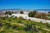 Scenic view to Tangier from Charf hill — Stock Photo