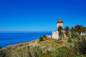 Lighthouse at the cape Spartel in Tangier — Stock Photo