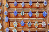 Selection of traditional Moroccan amulets — Stock Photo