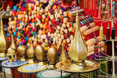 Lamps on Moroccan marke — Stock Photo