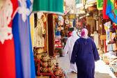 Women on Moroccan market — Stock Photo