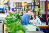 Young romantic couple having a date  — Stock Photo