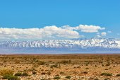 Beautiful landscape in Northern Atlas, Morocco — Stock Photo