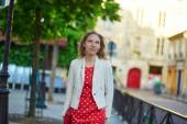 Young woman in Paris — Stock Photo