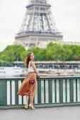 Beautiful young Parisian woman — Stock fotografie
