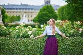 Beautiful Parisian woman — Stock Photo