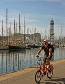 Porto de barcelona. — Foto Stock