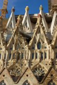 Cathedral Cagrada Familia. — Stock Photo
