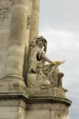 Alexandre III bridge. — Stock Photo