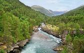 Norway landscape. — Stock Photo
