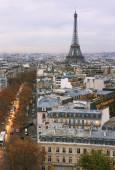 パリの凱旋門アークからの眺め. — ストック写真