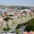 Panoramic view of old Tbilisi , view from Narikala fortress.Tiflis is the capital and largest city of Georgia  with 1,5 mln people population — Stock Photo #54151159