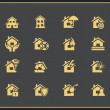 Property insurance icons — Stock Vector #54275229