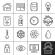Home Automation Icons — Stockvektor  #56051443