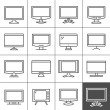 Display devices — Stock Vector #56051555