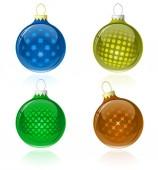 Noel topları — Stok Vektör