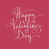 Feliz dia dos namorados letras — Vetor de Stock
