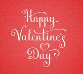 Mutlu Sevgililer günü yazı — Stok Vektör