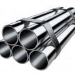 Metal pipes. — Stock Photo #52865137