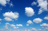 白色的云 — 图库照片