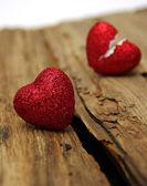 Coração partido — Fotografia Stock