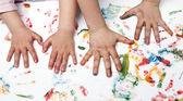 Children hand — Stock Photo